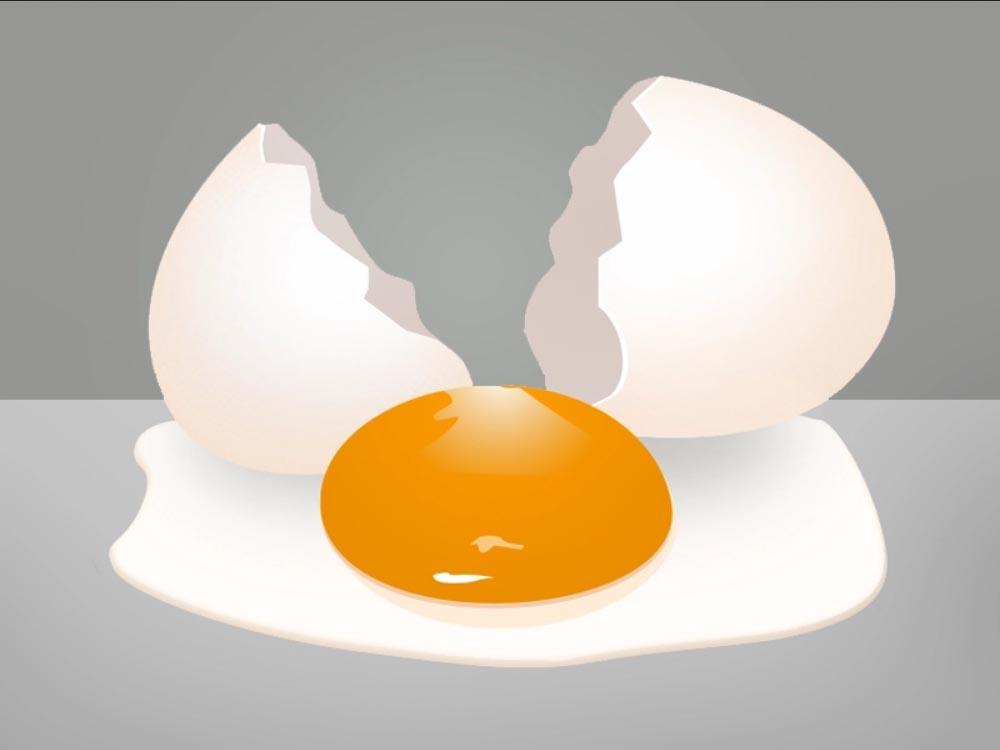 تفسير البيض المكسور في الحلم رؤية كسر البيض في المنام