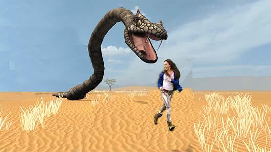 تفسير حلم الثعبان يلاحقني في المنام لابن سيرين