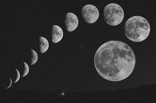 تفسير حلم انشقاق القمر معنى انشقاق القمر في المنام